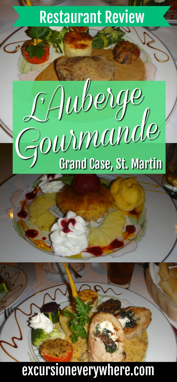 Excursion Everywhere - Travel blog post about our romantic date night at L'Auberge Gourmande an amazing gourmet french restaurant in Grand Case, St. Martin.
