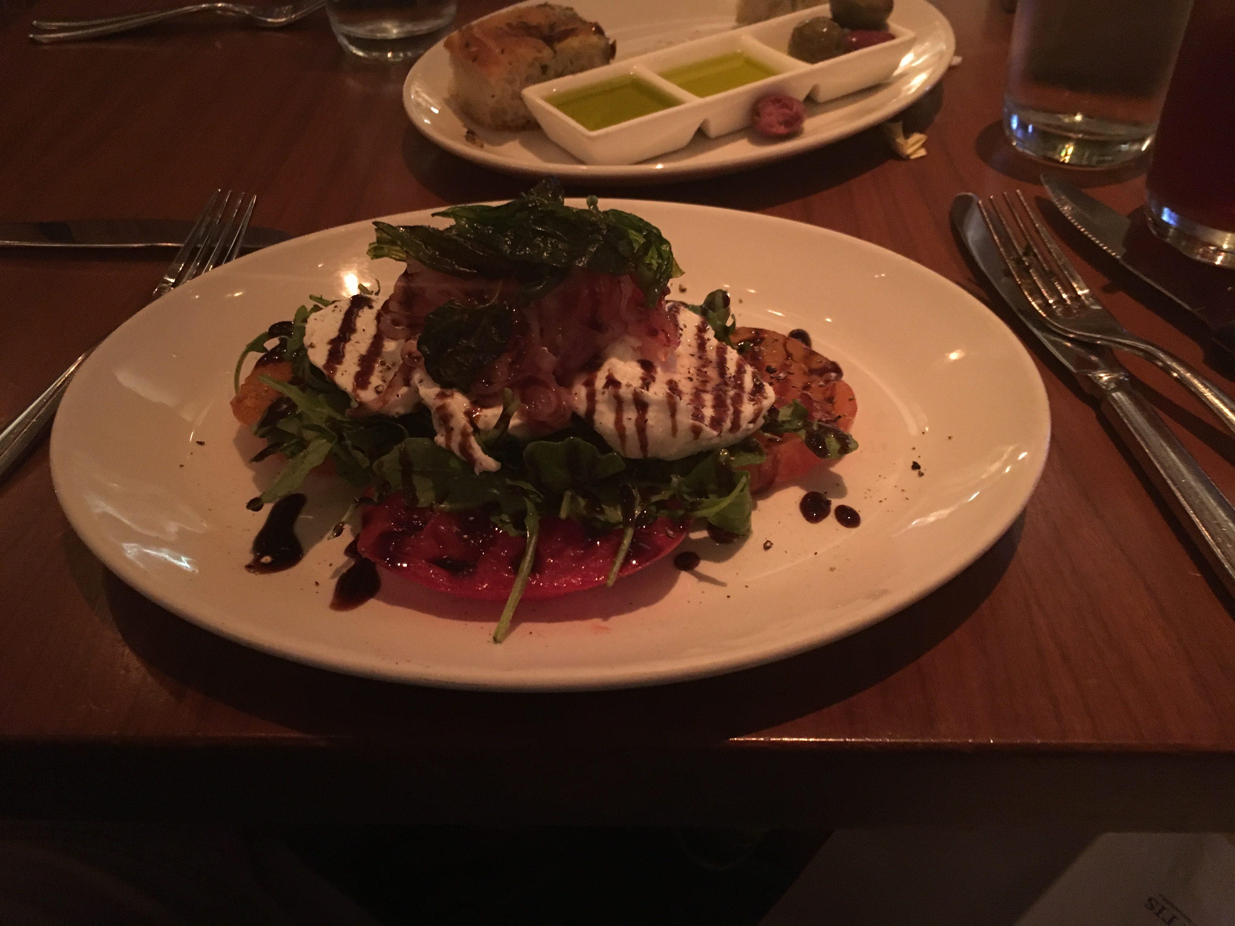 Caprese Salad - Olives Atlantis Restaurant