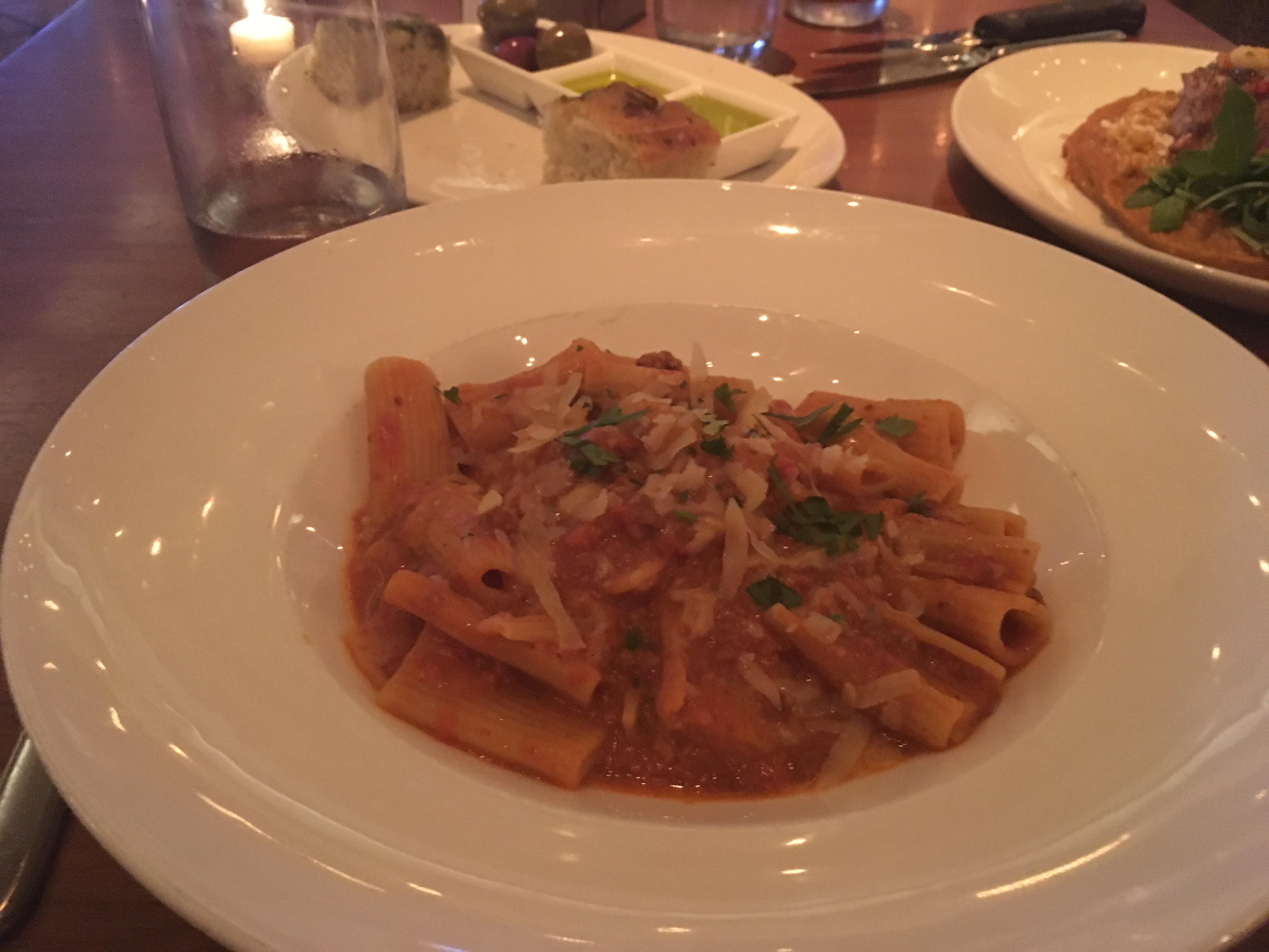 Beef Bolognaise - Olives Atlantis Restaurant