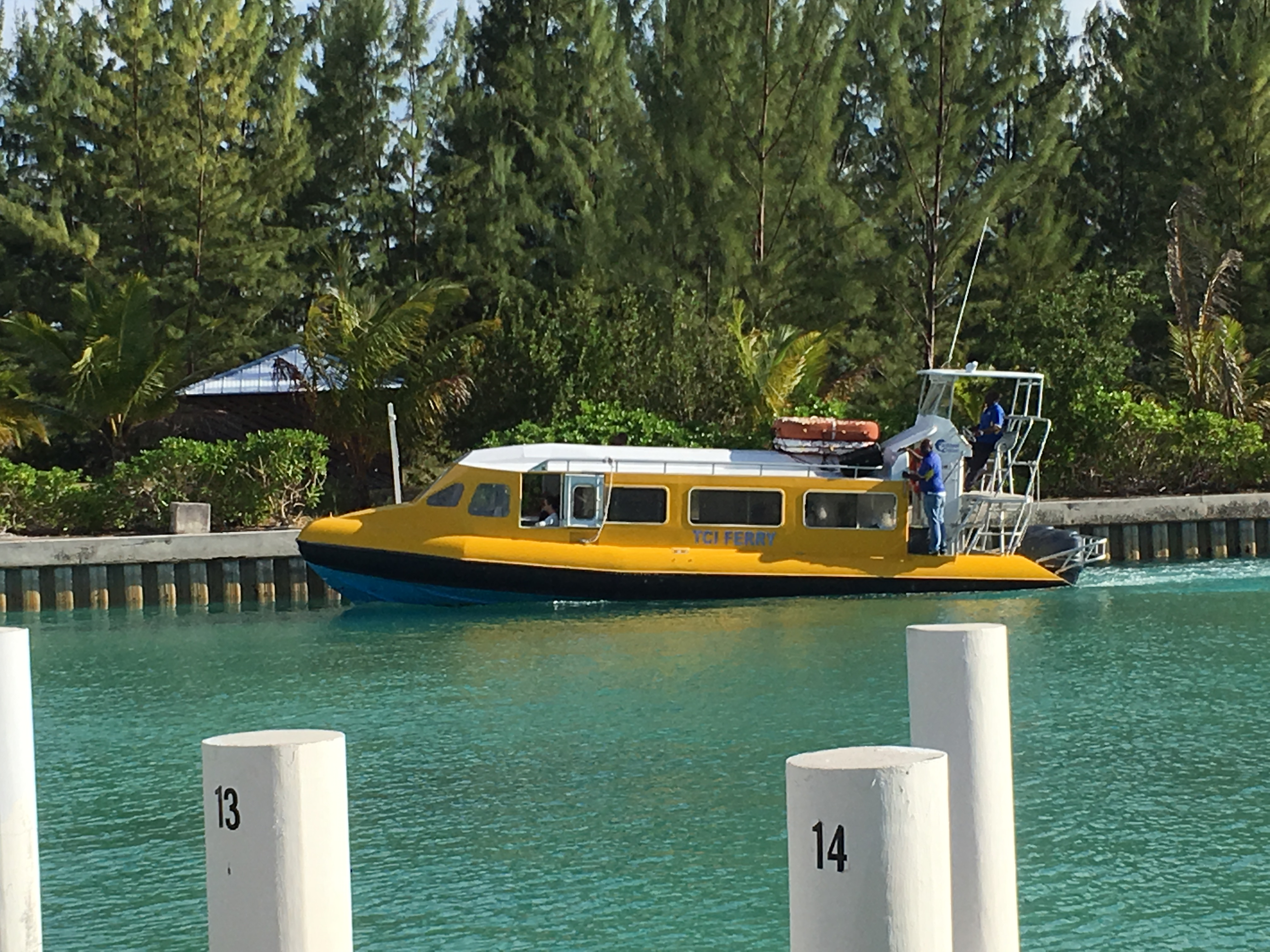 TCI Ferry to North and MIddle Caicos - Turks & Caicos Island Guide - DIY Daytrip to North and Middle Caicos