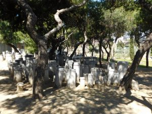 Kerameikos an ancient cemetery in Athens, Greece
