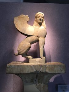 Statue in the Kerameikos museum in Athens, Greece