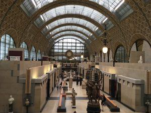 Musée d'Orsay in Paris, France