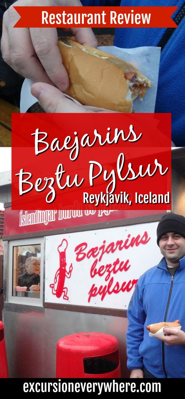 RestaurantReview.BaejarinsBeztuPylsur.ReykjavikIceland.HotDogs.TravelBlog