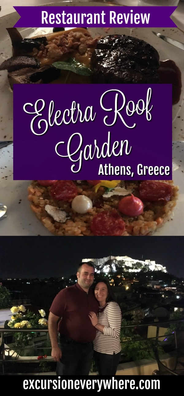 Electra Roof Garden - Athens Rooftop Fine Dining