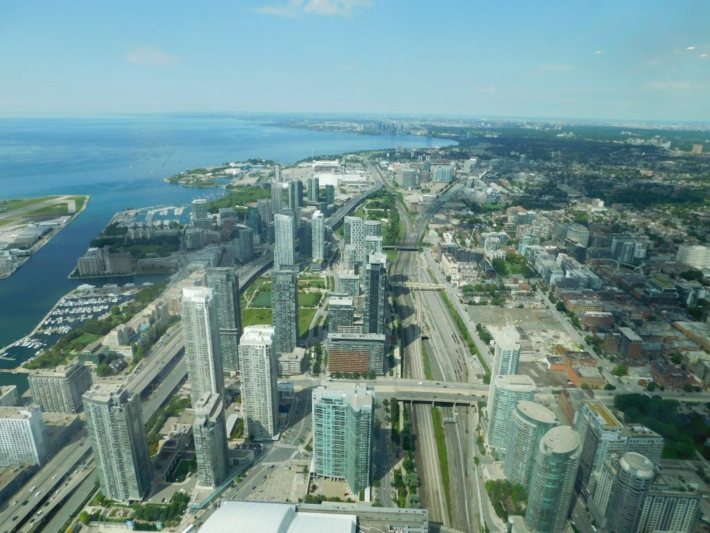 #19 The View from the CN Tower.