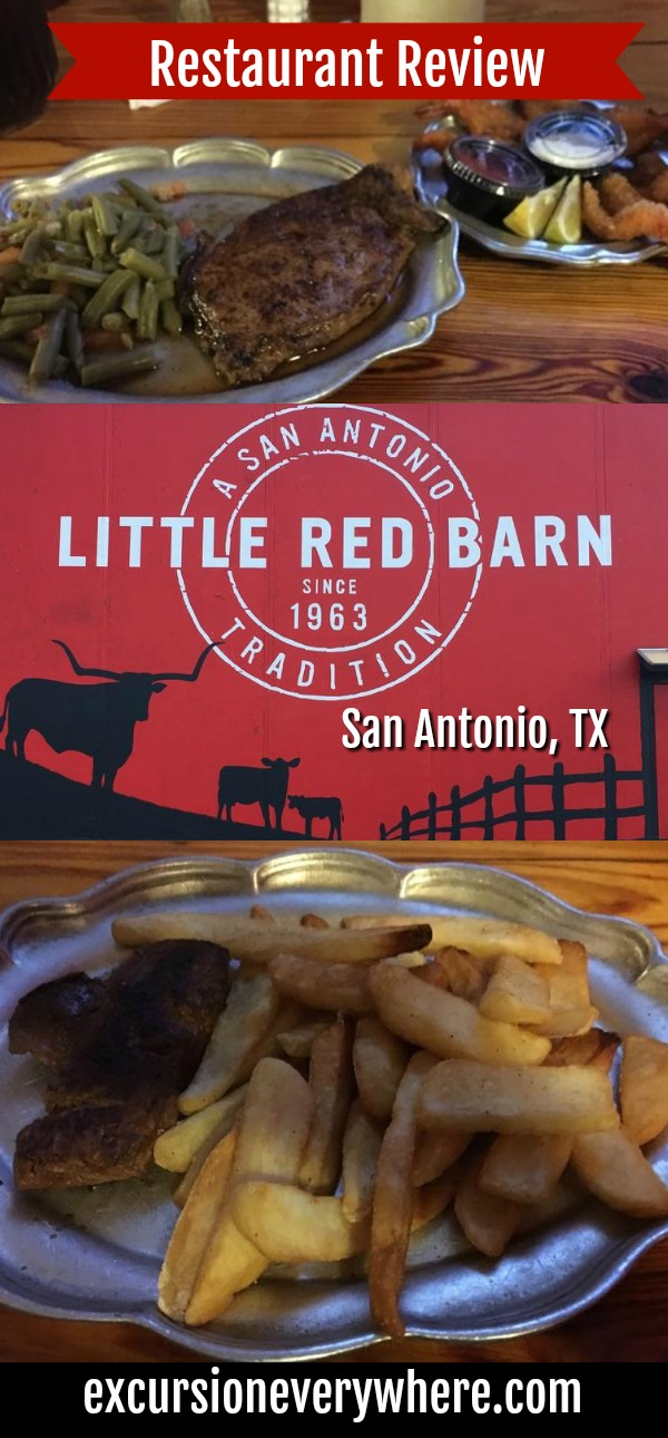 A Traveler Blogger's Guide to the awesome Little Red Barn Steakhouse in San Antonio! www.excursioneverywhere.com