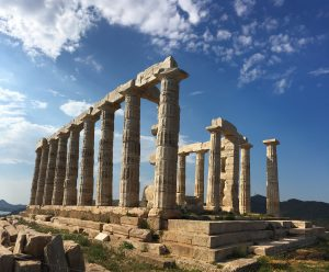 Temple of Poseidon at Cape Sounion