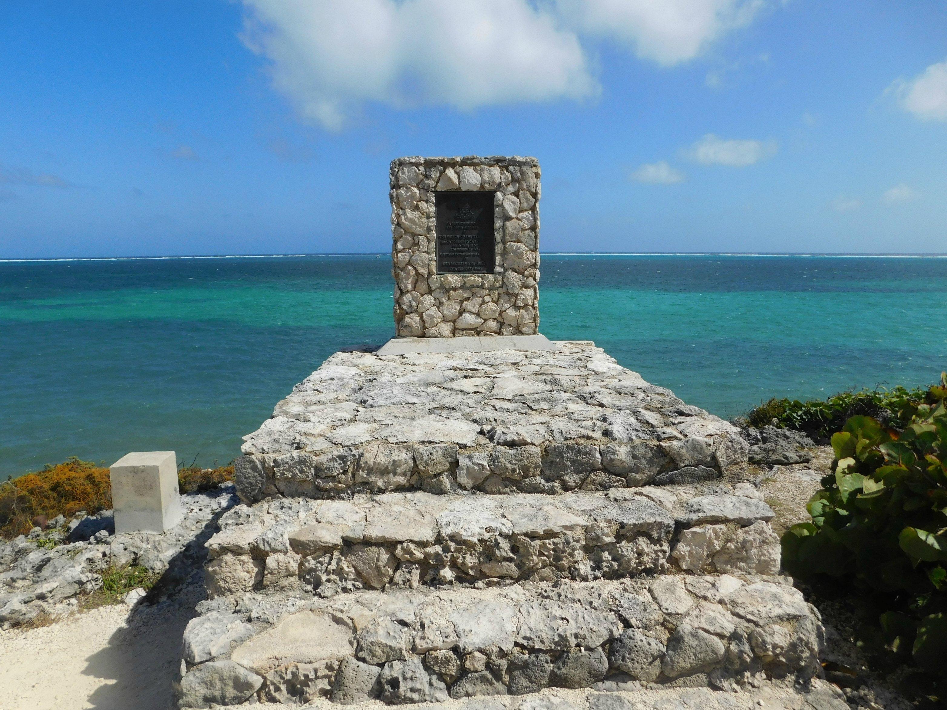 Wreck of the Ten Sails Memorial in Grand Cayman