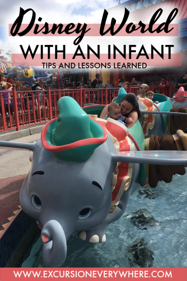 ExcursionEverywhere - Our Tips and Lessons Learned so you can spend a day at Disney World's Magic Kingdom with an Infant and come home with memories instead of regrets! www.excursioneverywhere.com