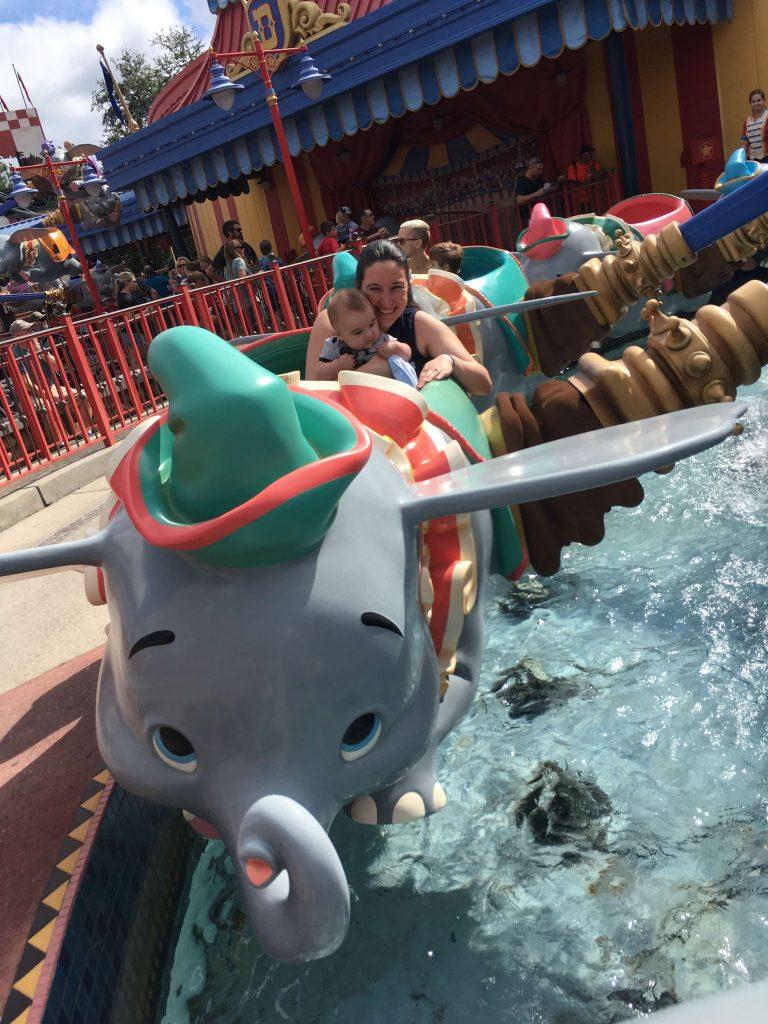 Dumbo at Disney's Magic Kingdom