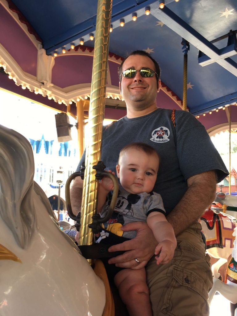 Prince Charming's Carousel at Disney World