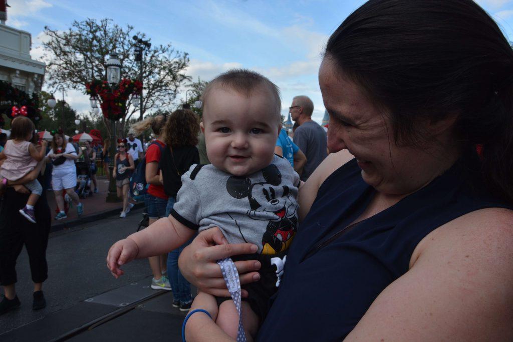 The Happiest Disney Baby!