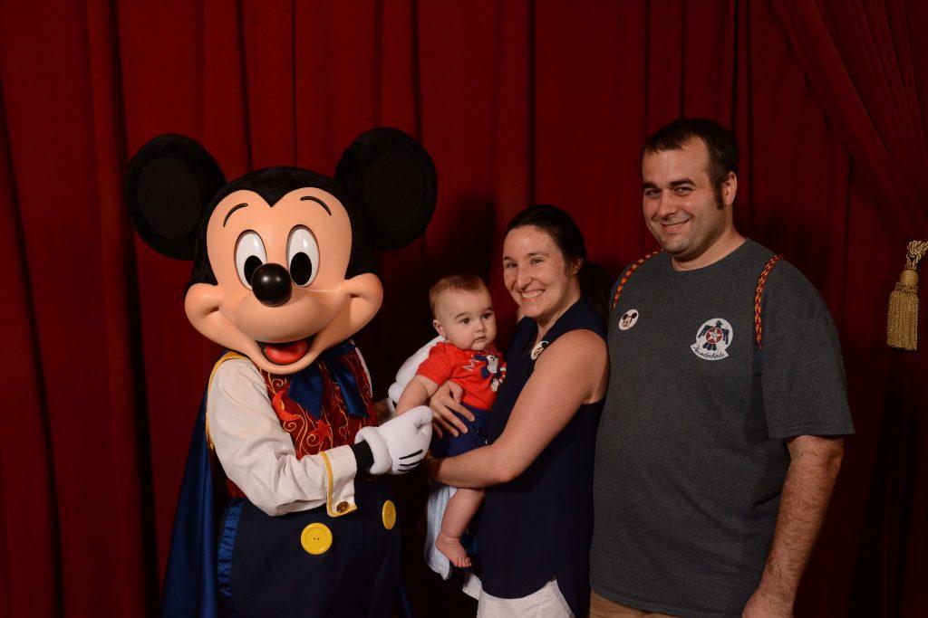 Mickey the Magician at Disney World