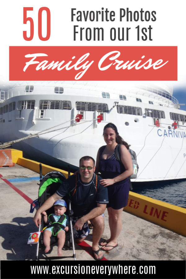 A Travel Blogger's Photo Journal showing our favorite photos from our first cruise as a family of three on the Carnival Vista in January 2019. We visited the ports of Costa Maya, Roatan, Belize, and Cozumel. www.excursioneverywhere.com